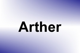 Arther name image