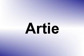 Artie name image