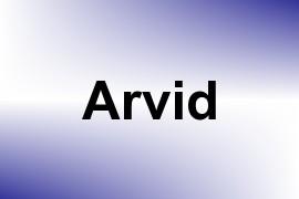 Arvid name image