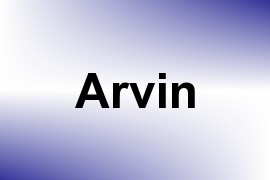 Arvin name image