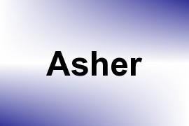 Asher name image