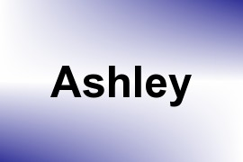 Ashley name image