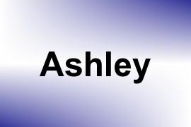 Ashley name image