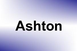 Ashton name image