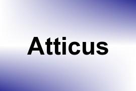 Atticus name image