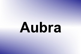 Aubra name image