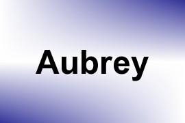 Aubrey name image
