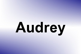 Audrey name image