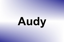 Audy name image