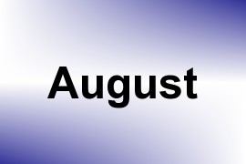August name image