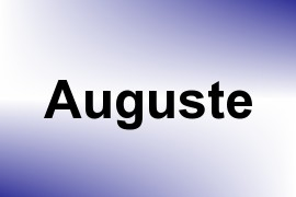 Auguste name image