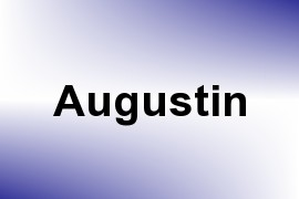 Augustin name image