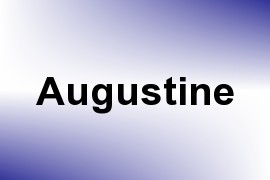 Augustine name image