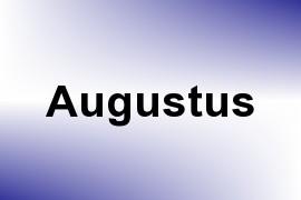 Augustus name image
