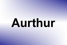 Aurthur name image