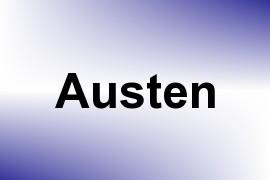 Austen name image