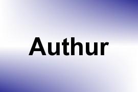 Authur name image