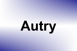 Autry name image