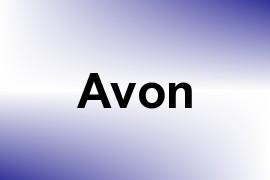 Avon name image