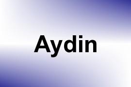 Aydin name image