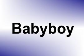 Babyboy name image