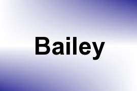 Bailey name image