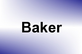 Baker name image