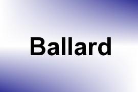 Ballard name image