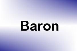 Baron name image
