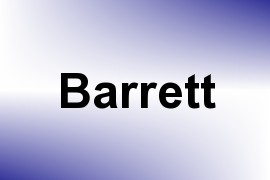 Barrett name image