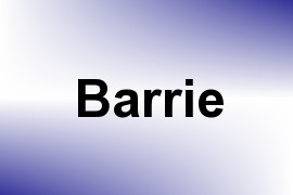 Barrie name image