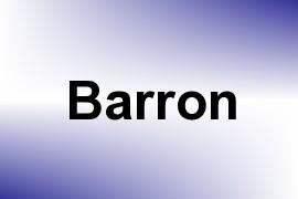 Barron name image