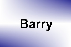 Barry name image