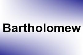 Bartholomew name image