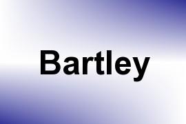 Bartley name image
