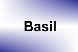 Basil name image
