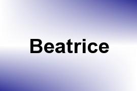 Beatrice name image