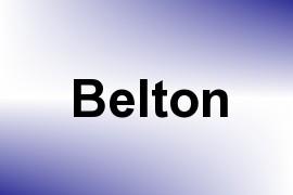 Belton name image