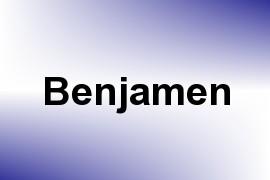 Benjamen name image