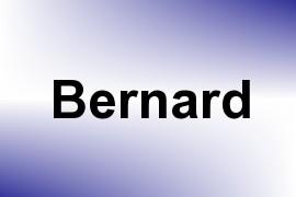 Bernard name image