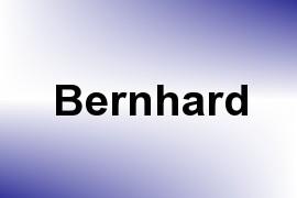 Bernhard name image