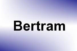 Bertram name image