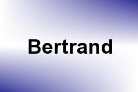 Bertrand name image