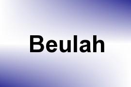 Beulah name image