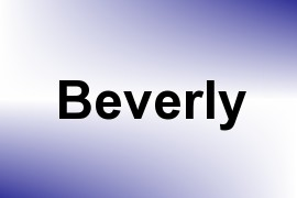 Beverly name image