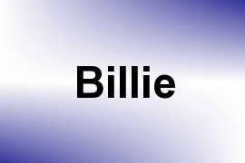 Billie name image