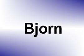Bjorn name image