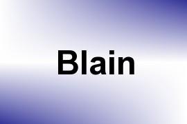 Blain name image