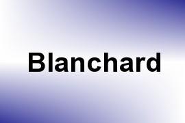 Blanchard name image