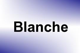 Blanche name image